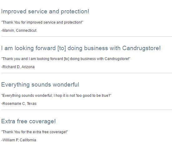 Candrugstore.com Feedback