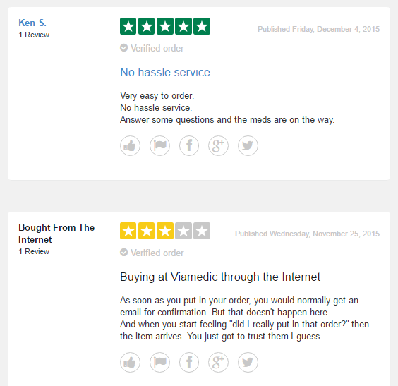 Viamedic.com Customer Experience