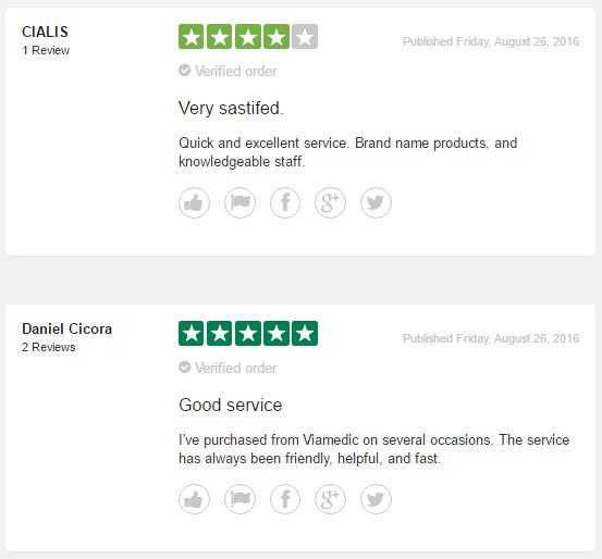 Viamedic.com Customer Report 2017