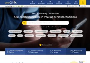 Euroclinix.co.uk Main Page