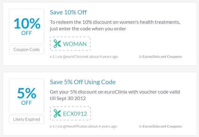 Euroclinix.co.uk Coupon Codes