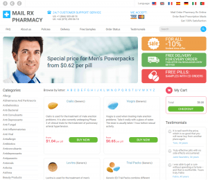 Mailorderpharmacyrxt.com Main Page