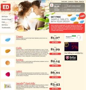 Best-Online-Ed-store.com Front