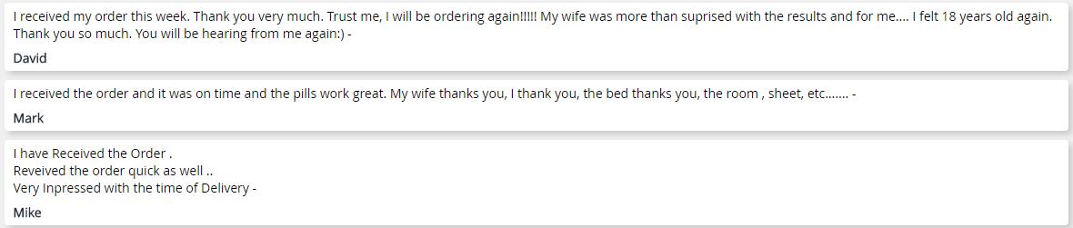Gsmeds.com Customer Report