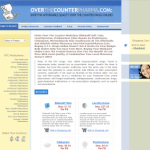 Home Page of Overthecounterpharma.com