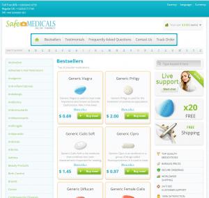 SafeMedicals.com Design