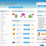The Main Page of NoRxPharmStore.com