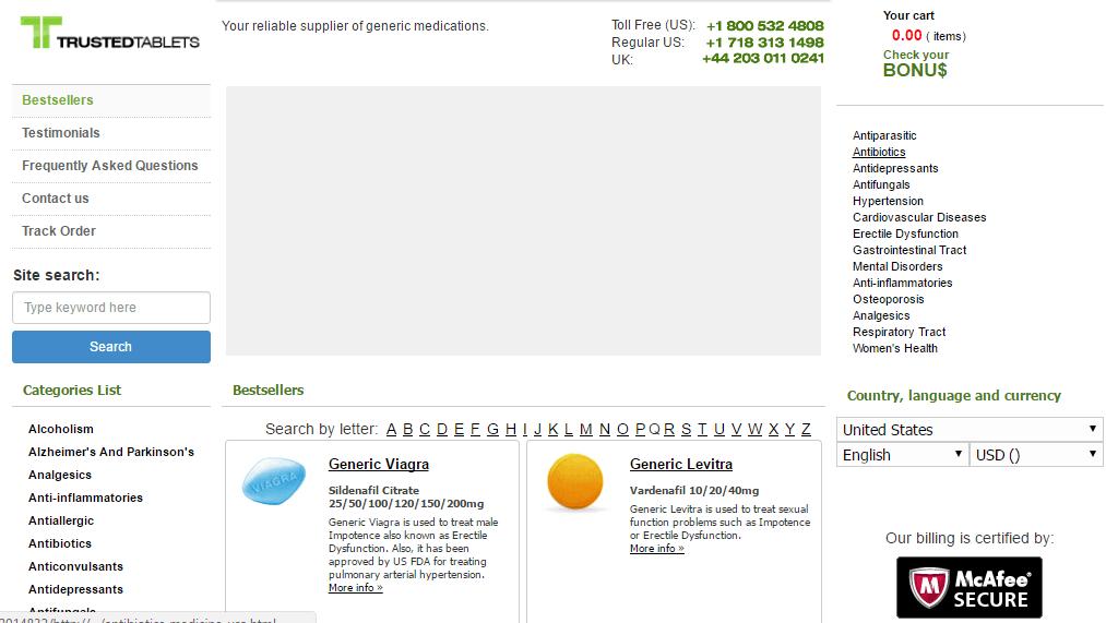 True-tablets.com Main Page