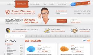 Trust Pharmacy Network Website Look